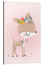 Alu-Dibond  Deer Rosalie - Kidz Collection
