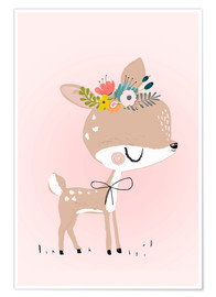 Premium poster  Deer Rosalie - Kidz Collection