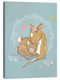 Kidz Collection - Fawn mother and child