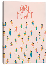 Canvas print  Girl Power