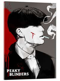 Acrylic glass  Peaky blinders tommy shelby art print - 2ToastDesign