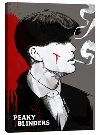 Canvas  Peaky blinders tommy shelby art print - 2ToastDesign