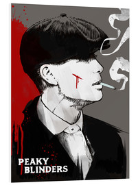 Forex  Peaky Blinders - Tommy Shelby (Art Print) - 2ToastDesign