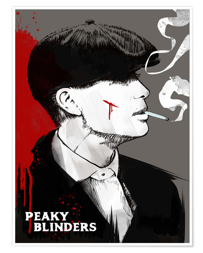 Premium poster Tommy Shelby, Peaky Blinders