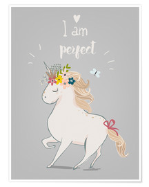 Premium poster Perfect little unicorn