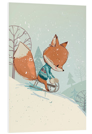 Forex  Fox with sledge - Kidz Collection