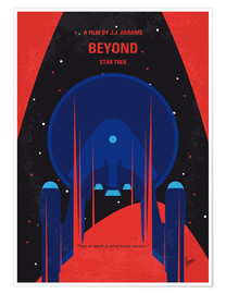 Premium poster No932 My ST Beyond minimal movie poster