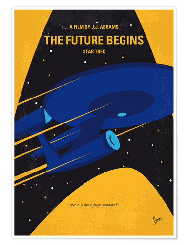 Premium poster The Future Begins