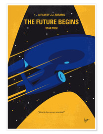 Premium poster No930 My ST The Future Begins minimal movie poster