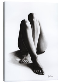 Canvas  Nude study of the legs 42 - Ashvin Harrison