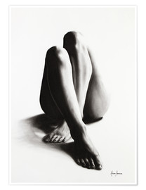 Premium poster  Nude study of the legs 42 - Ashvin Harrison