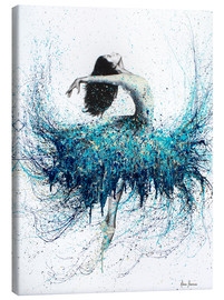 Canvas print  Opals and Waves Ballerina - Ashvin Harrison