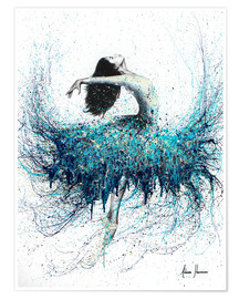 Premium poster  Opals and Waves Ballerina - Ashvin Harrison