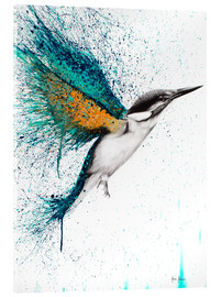 Acrylic print  For I Must Be Traveling On - Ashvin Harrison