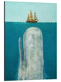 Aluminium print  The whale - Terry Fan