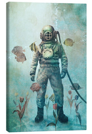 Canvas print  A garden under the sea - Terry Fan