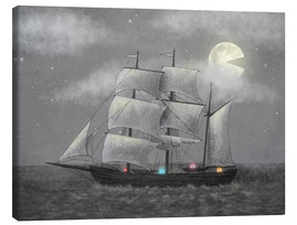 Canvas print  Ghost ship - Terry Fan