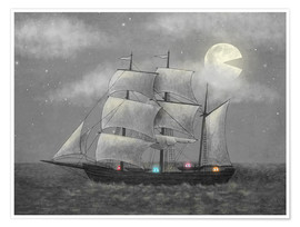 Premium poster  Ghost ship - Terry Fan