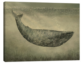 Canvas print  The wallpaper whale - Terry Fan