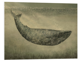 Foam board print  The wallpaper whale - Terry Fan