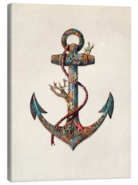Canvas  Reef anchor - Terry Fan