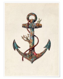 Premium poster Reef anchor