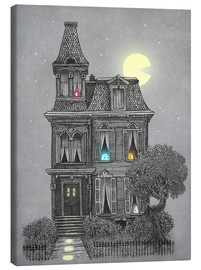 Canvas print  Haunted house - Terry Fan
