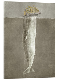 Acrylic print  revenge of the whale - Terry Fan