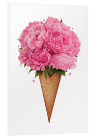 Forex  Ice cream with peonies - Valeriya Korenkova