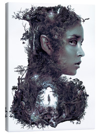 Canvas print  The Dark Elf Fantasy - Barrett Biggers