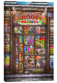 Canvas print  Groovy Records - Michael Fishel