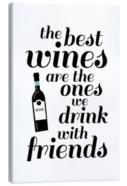 Canvas print  the best wines - Ohkimiko