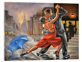 Acrylic print  Dancing in the rain - EllectraArt