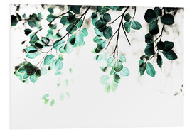Forex  Pastel Leaves 1 - Mareike Böhmer Photography