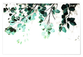 Poster  Pastel Leaves 1 - Mareike Böhmer Photography