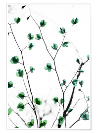 Poster Pastel Leaves 5