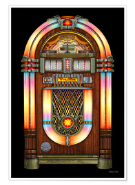 Premium poster Vintage Jukebox