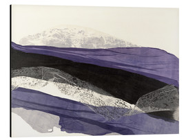 Aluminium print  Landscape abstract - Jan Sullivan Fowler