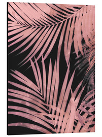Aluminium print  Delicate palm leaves - Emanuela Carratoni