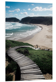 Foam board print  Robberg Nature Reserve, South Africa - Paul Kennedy