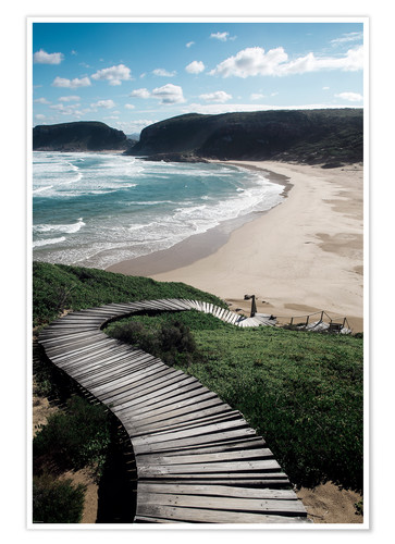 Poster Robberg Nature Reserve, South Africa