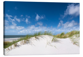 Canvas print  Dunes in the summer wind - Reiner Würz