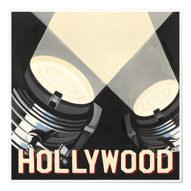 Premium poster  Hollywood - Marco Fabiano