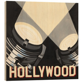 Wood print  Hollywood - Marco Fabiano