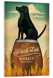 Acrylic glass  Black Lab Whiskey - Ryan Fowler
