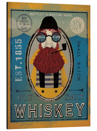 Aluminium print  Fisherman IV Old Salt Whiskey - Ryan Fowler