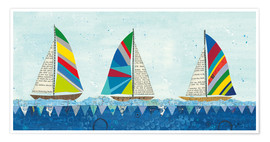 Poster Rainbow Spinnakers V
