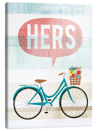 Canvas  Beach Cruiser Hers II - Michael Mullan