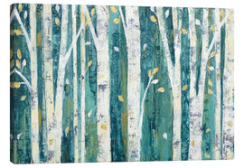 Canvas  Birches in Spring - Julia Purinton