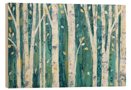 Wood  Birches in Spring - Julia Purinton